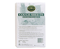 Medium Couch Sheets: 20 Pack
