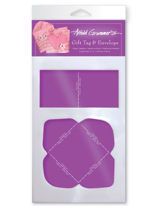Gift Tag & Envelope Template