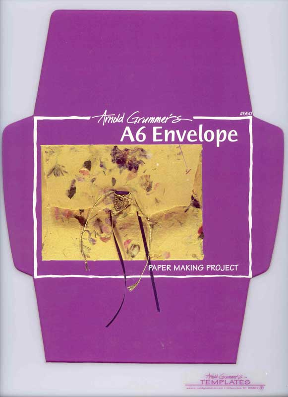 A6 Envelope Template