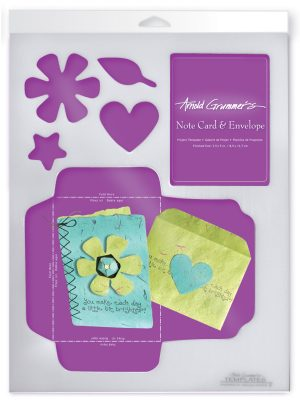 Note Card & Envelope Template