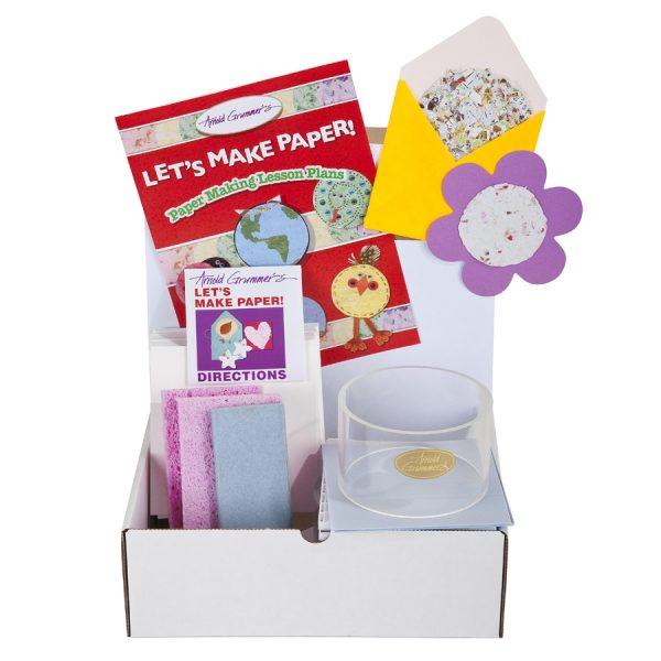 Let's Make Paper! Classroom Kit Box