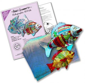 3D Holographic Fish Class Kit