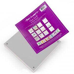 Paper Quilt: 30 Project Squares (White)