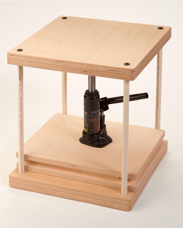 Jack Press Frame Assembled