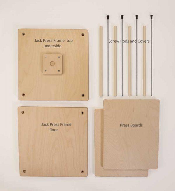 Jack Press Frame parts