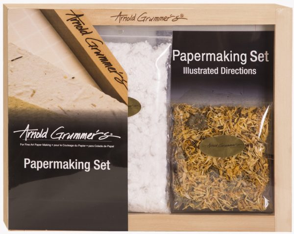 75 Arnold Grummer's Papermaking Set front