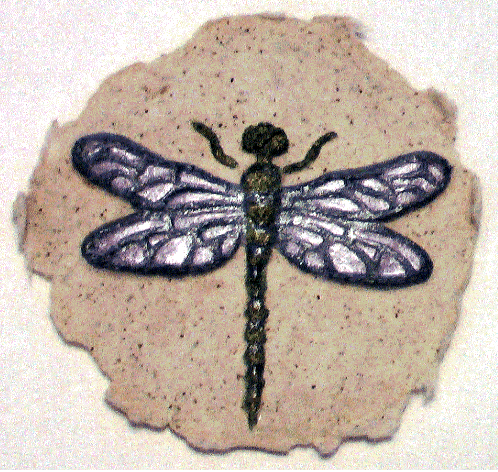 Dragonfly paper cast