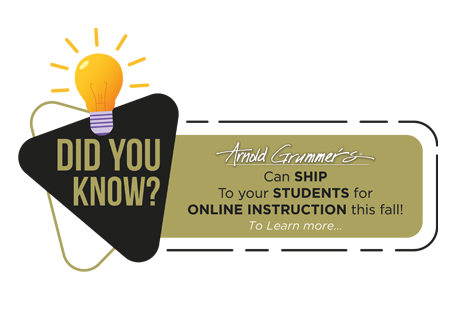we ship to your students for online class